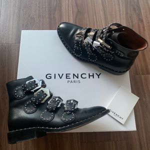 Givenchy Buckle Ankle Boots Size 5.5